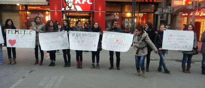 E-Romnja protest